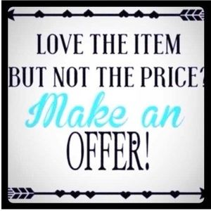 Reasonable Offers and Bundles!!
